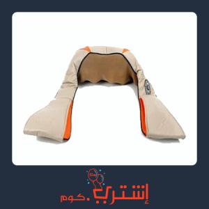 مساج حزام تدليك الرقبة والظهر والارداف مع خاصية التسخين الموضعي
